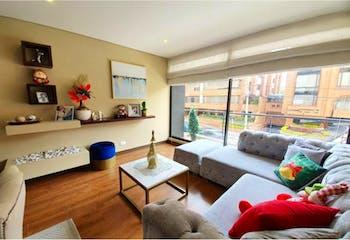 Apartamento en venta en Santa Barbara Central Usaquén de 2 habitaciones