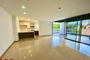 Apartamento en El Tesoro, Poblado - 149mt, tres alcobas, terraza