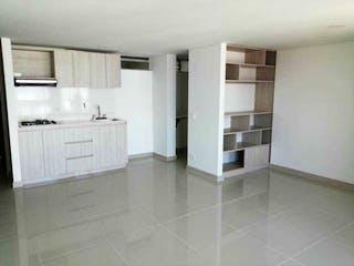 Una cocina con nevera y fregadero en Apartamento en venta en Loma del Indio, de 62mtrs2