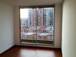 Una ventana que tiene una ventana en ella en Apartamento en venta en Suba de  3 habitaciones