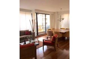 Apartamento en venta en Chicó de 166m²