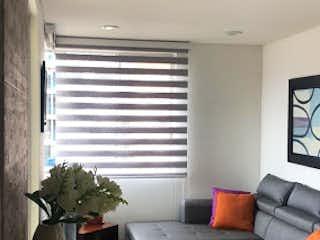 Una sala de estar llena de muebles y una televisión de pantalla plana en Apartamento en venta en Pontevedra de  3 habitaciones