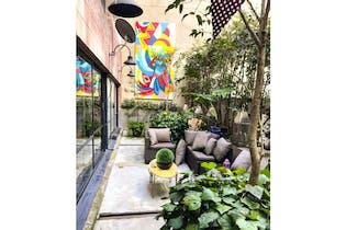 Apartamento en Rosales-Bogotá con terraza y tres alcobas 306m2