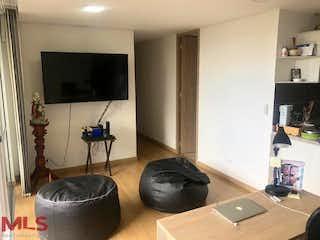 Una sala de estar llena de muebles y una televisión de pantalla plana en Viña de San Remo