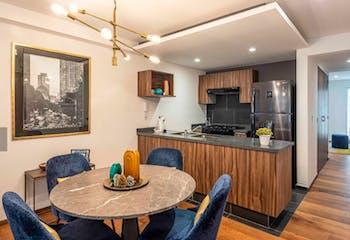 Desarrollo inmobiliario, Benjamin Franklin 117, Departamentos en venta en Condesa 91m²