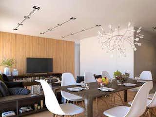 Una sala de estar llena de muebles y una televisión de pantalla plana en Casa Roma 127