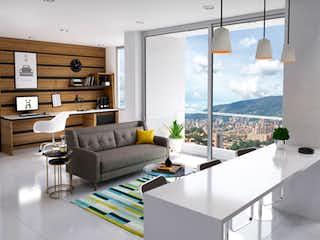 Una sala de estar llena de muebles y una ventana en Almendros Terra