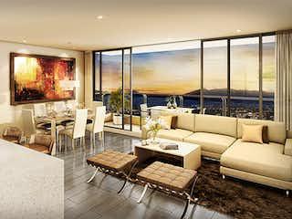Una sala de estar llena de muebles y una televisión de pantalla plana en Provenza Prestige