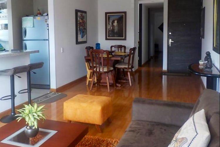 Foto 3 de Apartamento en Bogota Santa Barbara Central - con dos alcobas c/u con baño