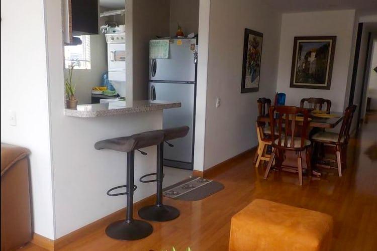 Foto 4 de Apartamento en Bogota Santa Barbara Central - con dos alcobas c/u con baño