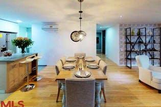 Apartamento en venta en Loma de Las Brujas, 154mt con balcon