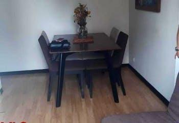 Apartamento en venta en Loma de los Bernal, 52mt con balcon