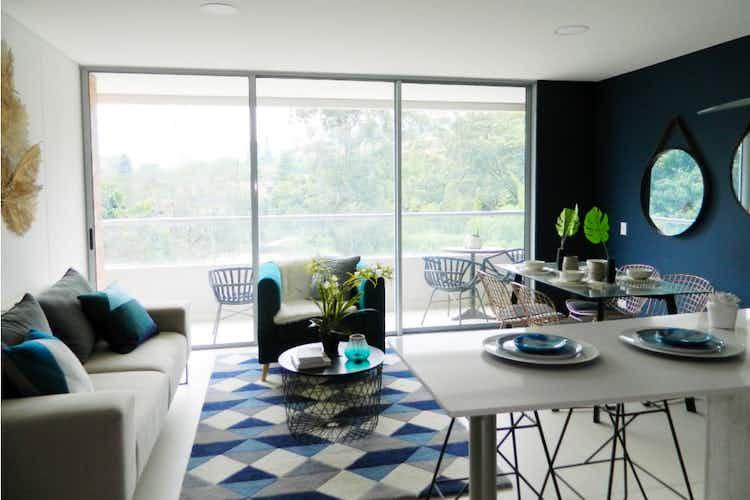 Portada Apartamento en venta en Loma del Escobero, 69mt con balcon