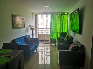 Una sala de estar llena de muebles y una ventana en Apartamento en venta en Samaria de  3 habitaciones