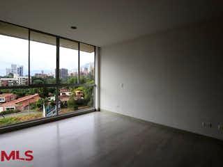 Una vista de una sala de estar desde una ventana en Zarzamora