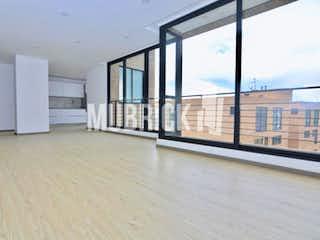 Una habitación que tiene una ventana en ella en Apartamento en venta en Rosales de  3 habitaciones