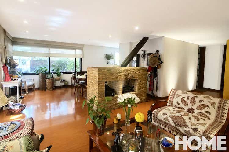 Portada Apartamento en venta en La Cabrera, 123mt con chimenea