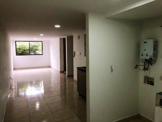 Un cuarto de baño con lavabo y ducha en Apartamento en venta en Fátima, 62mt