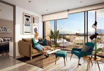 Living Sabana, Apartamentos en venta en Casco Urbano Chía de 1-3 hab.