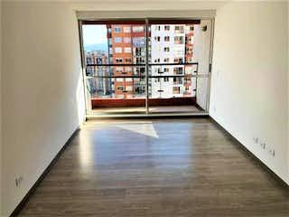 Una vista de una cocina con una puerta de cristal en Apartamento en venta en Techo, 76mt con balcon