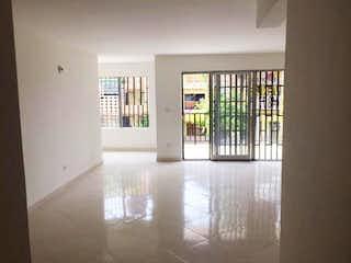 Una vista de una habitación con un gran ventanal en Casa en venta en San Javier de 115mts