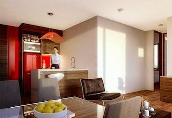 Urban K, Apartamentos en venta en La Castellana de 1-2 hab.