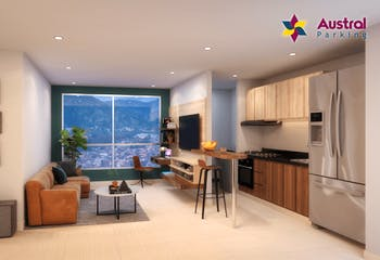 Austral Parking, Apartamentos en venta en Casco Urbano Caldas 64m²