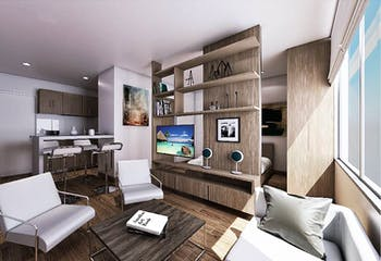 Metropolis 73, Apartamentos en venta en San Fernando con 41m²