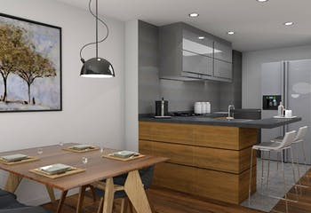 Roble San Fernando, Apartamentos en venta de 2-3 hab.