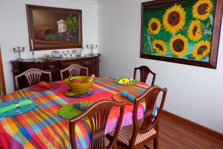 Foto 4 de Apartamento En Bogota Santa Barbara Central- chimenea- 3 alcobas