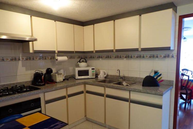 Foto 18 de Apartamento En Bogota Santa Barbara Central- chimenea- 3 alcobas