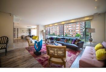 Apartamento en venta en Chicó de 4 hab.