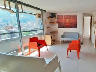 Una sala de estar llena de muebles y una ventana en Apartamento en venta en La Paz, 92mt