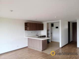 Un cuarto de baño con lavabo y bañera en Apartamento en venta en El Porvenir, 67mt con balcon