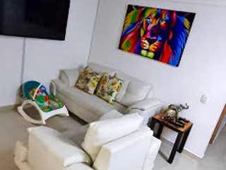 Una habitación que tiene un montón de camas en ella en Apartamento en venta en Rodeo Alto, 58mt con balcon