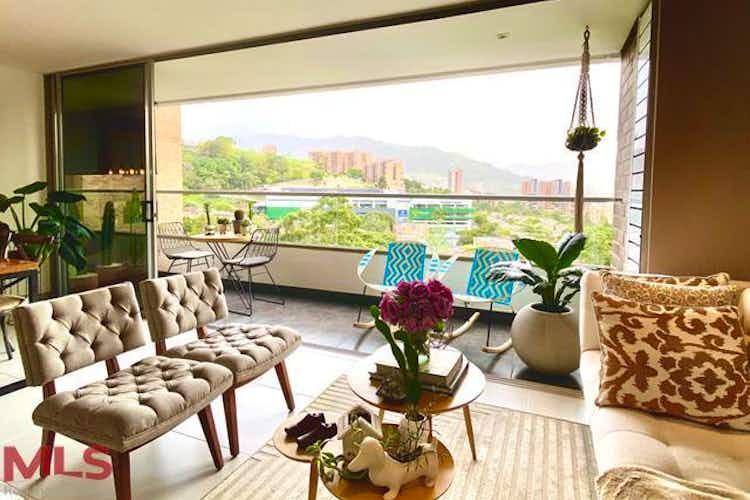 Portada Apartamento en venta en Loma de Cumbres, 135mt con balcon