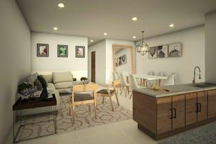 Vivienda nueva, Residencial Vertice 25, Departamentos en venta en San Rafael con 63m²