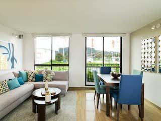 """Una sala de estar llena de muebles y una gran ventana en Reserva de Madrid """"Palermo"""""""