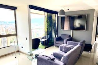 Apartamento en venta en Poblado de 77m² con Zonas húmedas...