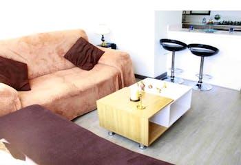 Apartamento en venta en Casco Urbano Cajicá de 1 hab. con Bbq...
