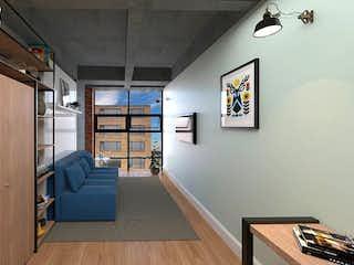 Una vista de una sala de estar y una sala de estar en U49
