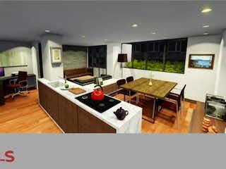 Una cocina que tiene un montón de muebles en ella en Moren´t
