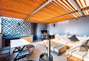Departamento en venta de 234 m2 en la Roma Norte con 3 recámaras