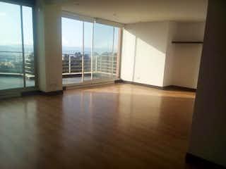 Una vista de una sala de estar y comedor en Apartamento en venta en Bosque Medina de 3 habitaciones