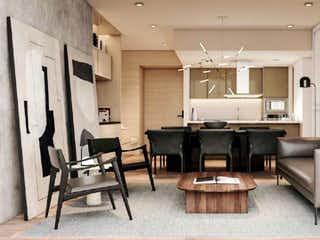 Una sala de estar llena de muebles y una chimenea en Origina Santa Fe