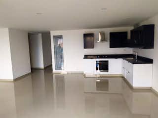 Una cocina con lavabo y microondas en Apartamento en venta en Los Almendros, 134mt con balcon