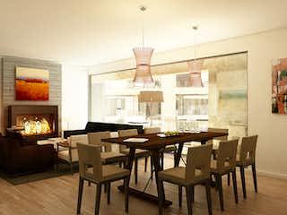 Una sala de estar llena de muebles y una mesa en Campos Eliseos 108