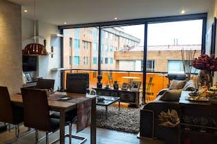 Apartamento en venta en Chicó Reservado, 92m² con Bbq...