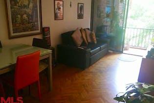 Apartamento en venta en Loma de los Bernal, 72mt con balcon