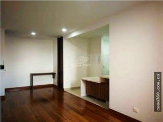 Una vista de una sala de estar y una sala de estar en Apartamento en venta en Barrio Niza, 60mt